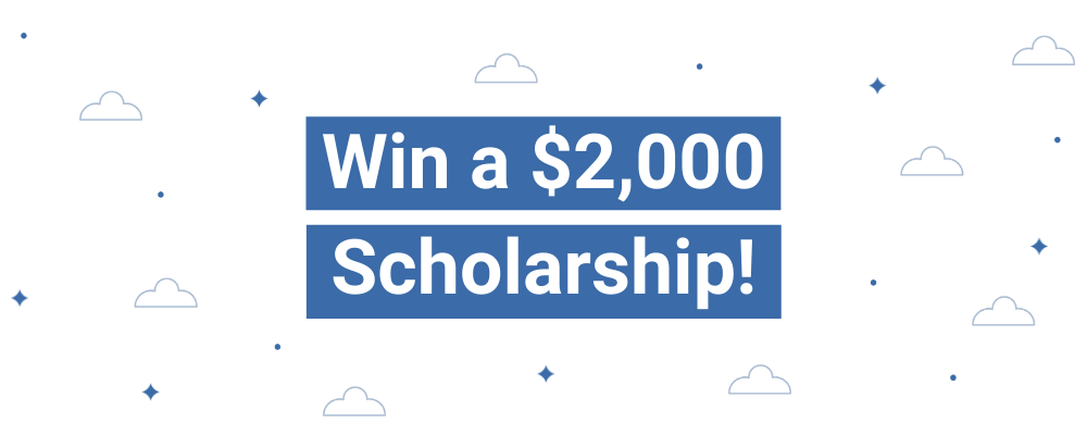 Win a $2,000 Scholarship from 1st Financial Bank USA