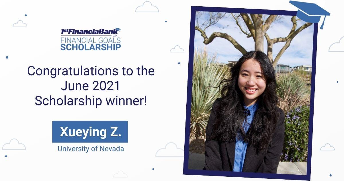 June 2021 Scholarship Winner Image